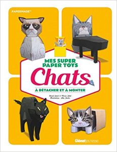 Mes super paper toys chats